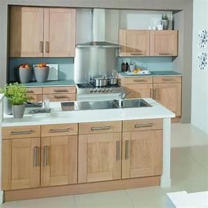 Cuisine moderne en bois for Deco cuisine avec salle À manger bois massif contemporaine