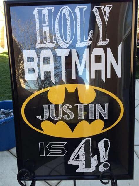 batman birthday parties birthday party ideas  batman