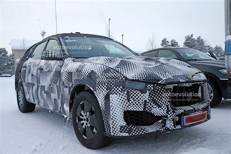 maserati levante spy shots reveal interior