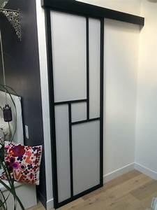Comment Monter Une Porte Coulissante : comment poser une porte coulissante en applique ~ Melissatoandfro.com Idées de Décoration