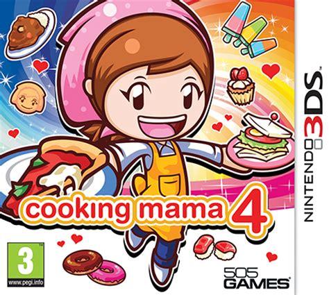 jeu de cuisine cooking cooking 4 nintendo 3ds jeux nintendo