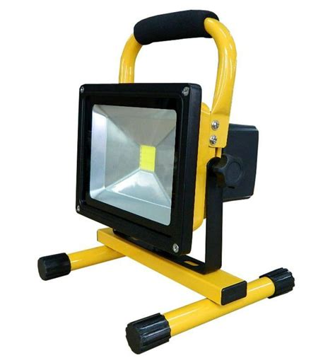 portable rechargeable fluorescent l 20w portable led work light cordless rechargeable ip65 12v