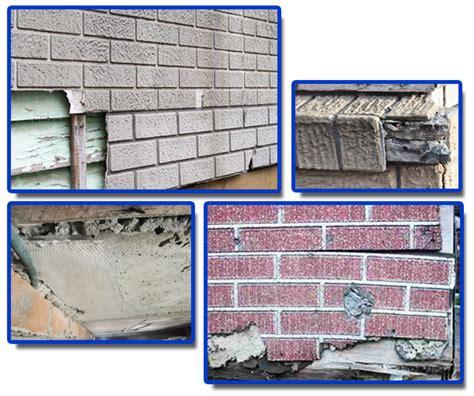 wall imitation asbestos brick cladding aware asbestos