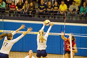 Tales of the Flowers: University of Michigan Volleyball