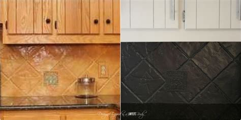 can you paint tiles in kitchen how to paint a tile backsplash my budget solution 9795
