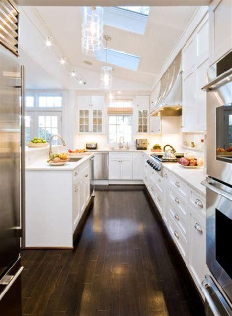 long narrow kitchen ideas  pinterest narrow