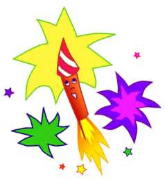 Cartoon Fireworks Clip Art Free
