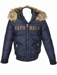 Manteau Garcon 4 Ans : kaporal manteau lursh14b62 bleu marine garcon des ~ Melissatoandfro.com Idées de Décoration