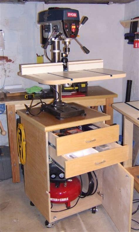 drill presscompressor cart  sry  lumberjockscom