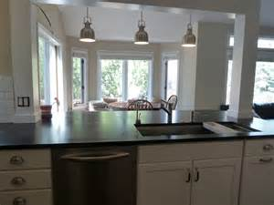 kitchen island wall incorporate a support post into kitchen island kitchen remodel kitchens load