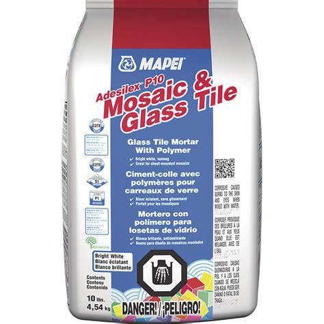 thinset for glass tile glass tile mortar rona