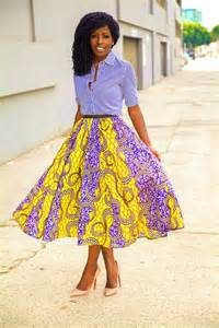 Skirts African Print Dresses