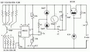 Capacitance Meter Circuit