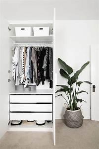 25 best ideas about ikea bedroom storage on pinterest With minimalist closet shelving design ideas