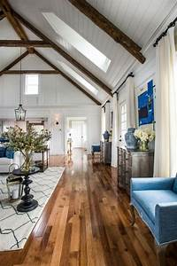 36, Cozy, Living, Room, Designs, With, Exposed, Wooden, Beams
