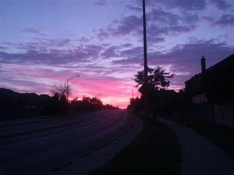evening purple sky tumblr image   helena