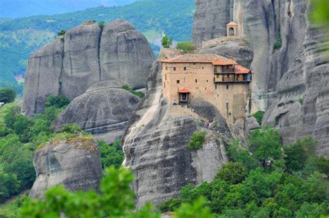 St Nikolaos Anapafsas Monastery  Visit Meteora
