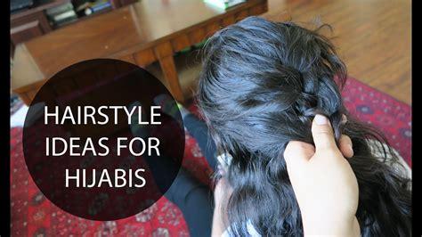 easy hairstyle ideas  hijabis hijab hair tutorial