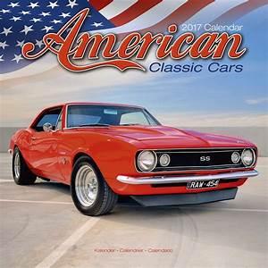 American Classic Cars Calendar 2017 | Pet Prints Inc.