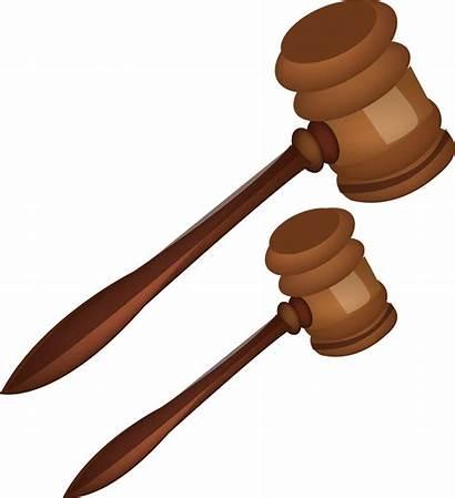 Hammer Drawing Court Judge Gavel Transparent Clipart