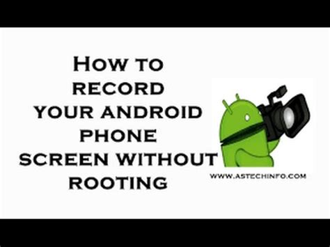 how to record your android screen how to record your android screen without root or computer