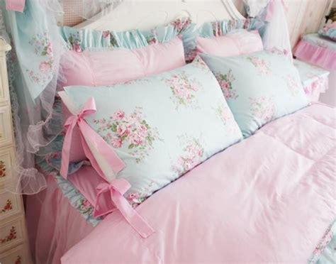 shabby chic king duvet king queen full twin princess shabby floral chic blue duvet comforter cover set ebay