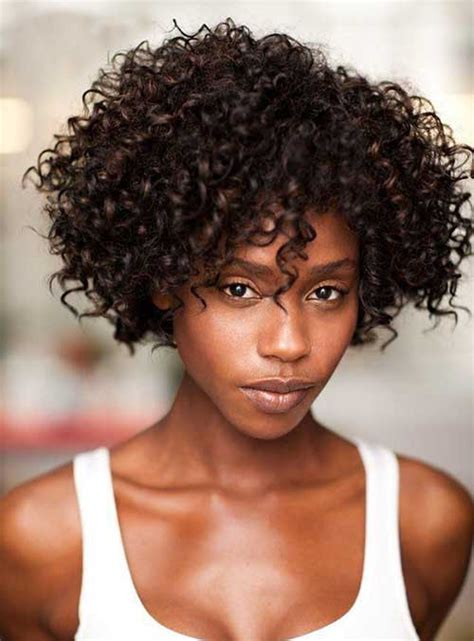 30  Short Curly Hairstyles for Black Women   Short