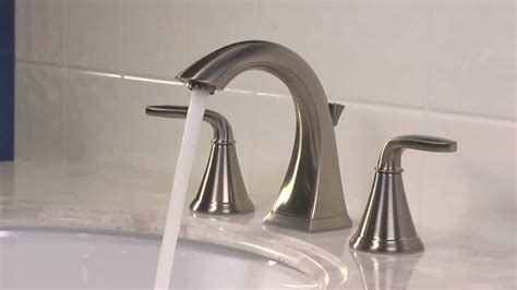 installing    widespread bathroom faucet