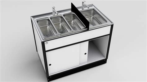 Used Self Contained Portable Sink by Self Contained Portable Sinks Mobile Washing Stations