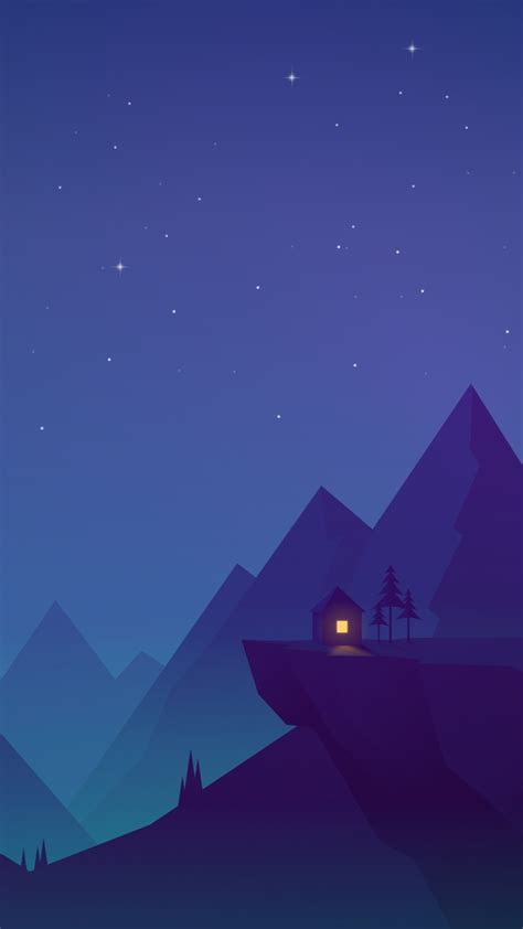 Android Animated Wallpaper For Iphone - house on mountains animated iphone wallpaper iphone