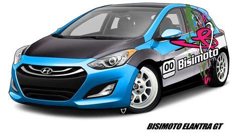 Hyundai Elantra Hp by Bisimoto Hyundai Elantra Gt Brings 600 Hp To Sema