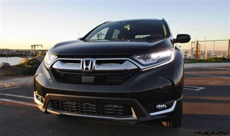 2017 Honda Cr V Touring Awd by 2017 Honda Cr V 1 5t Awd Touring Road Test Review By