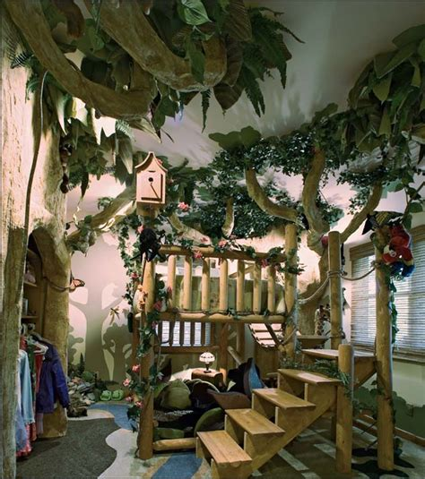 Cool Jungle Bedroom Accessories Theme Decor Ideas For Kids