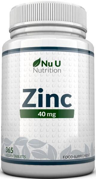 zink gegen akne zinc supplement 40mg 365 zinc gluconate tablets 12