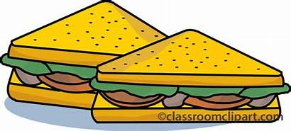 Clipart Clip Healthy Lunch Sandwich Cliparts Fast