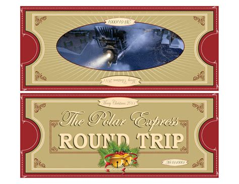 polar express  fold   printable polar