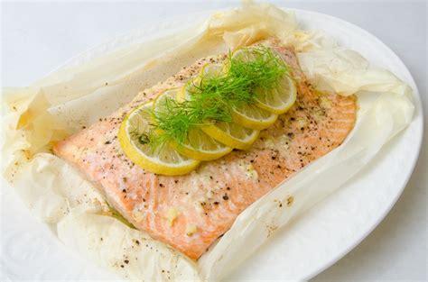 salmon en papillote rant cuisine