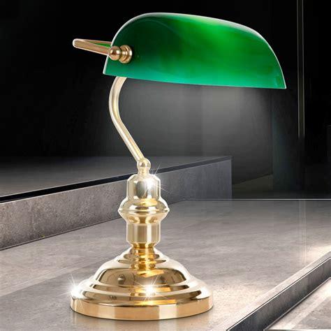 le de bureau banquier laiton verre vert le de bureau banquier laiton verre vert 28 images pi