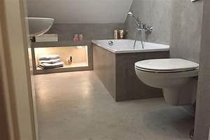 Bad Betonoptik Holz : beton badezimmer ~ Michelbontemps.com Haus und Dekorationen