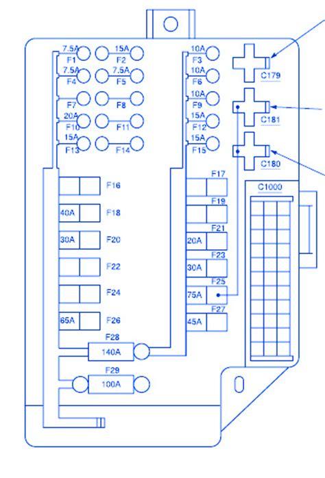 nissan quest  fuse boxblock circuit breaker diagram