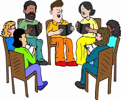 Clip Friends Clipart Fun Talking Study Fellowship