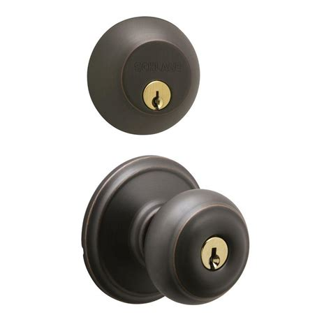 single handle kitchen faucets schlage aged bronze single cylinder deadbolt with georgian