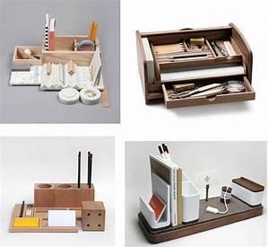 Bureau Avec Rangement : rangement bureau ~ Teatrodelosmanantiales.com Idées de Décoration