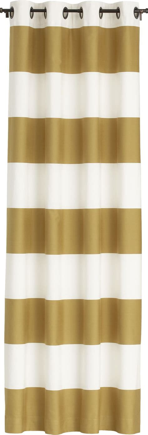 ivory and gold curtains alston ivory gold curtains crate and barrel crates and