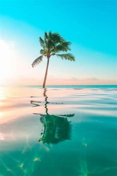 Tropical Wallpapers Unsplash Ocean Portrait Aesthetic Nature
