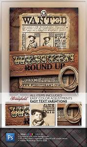 Vintage Business Card Template Wild West Event Flyer Event Flyer Flyer Wild West