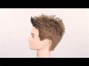 Brad Pitt Fight Club Hair Tutorial - TheSalonGuy - YouTube