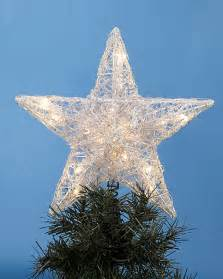 large star tree topper personalized ornament