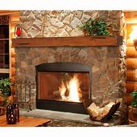 fireplace mantel shelves Pearl Mantels Shenandoah Traditional Fireplace Mantel Shelf - Fireplace Mantels & Surrounds at ...
