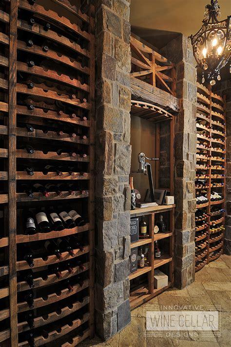reclaimed wine barrel designs innovative wine cellar designs